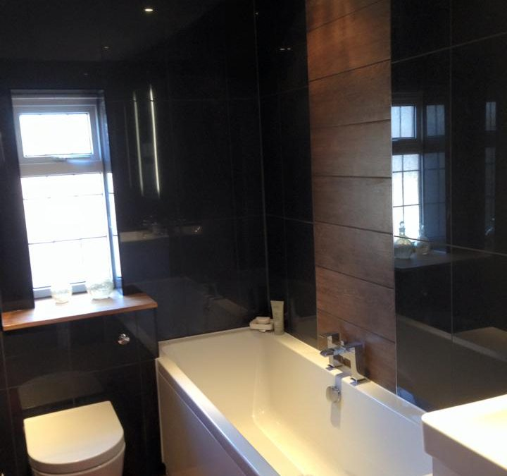 New contemporary bathroom